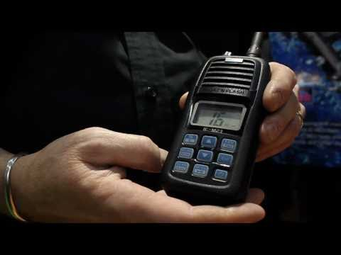 The New ICOM M23 launches at London Boat Show 2011