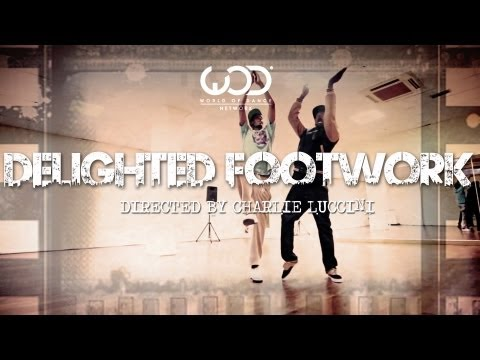 SERIAL STEPPERZ - DELIGHTED FOOTWORK