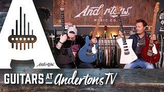 Brand New Music Man St Vincent & James Valentine Guitars