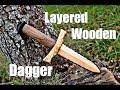 Woodworking   Wooden Dagger