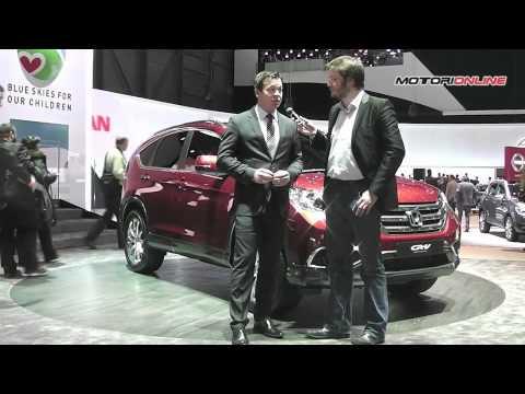 Honda al Salone di Ginevra 2012