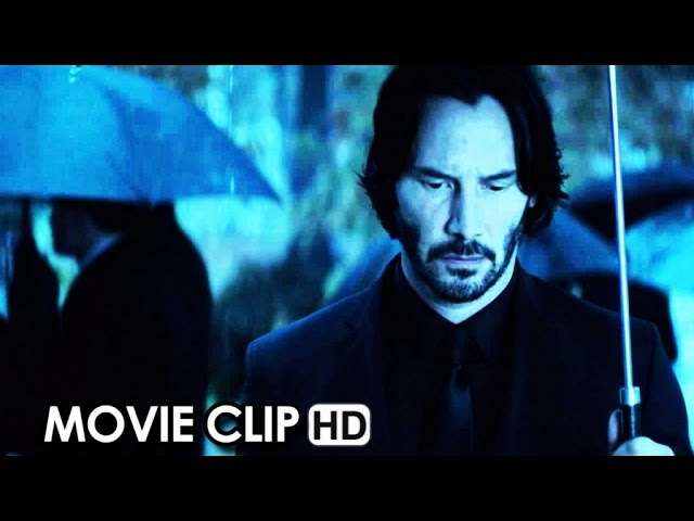 John Wick Movie CLIP - Bar Gun Fight (2014) - Keanu Reeves HD