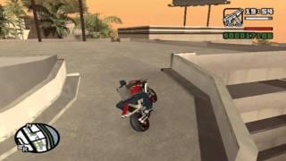 [GTA San Andreas]Como encontrar una NRG-500 .(Ubicacion).Moto de CarrerasHD