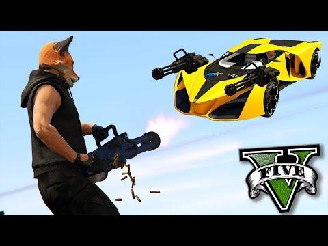 GTA V Online: MINIGUN vs X80 - O DESAFIO mais ÉPICO!!! thumbnail
