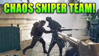 Battlefield 1 Shotgun Sniper Team! | BF1 Gameplay