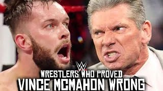 5 WWE Wrestlers Who PROVED Vince McMahon WRONG!