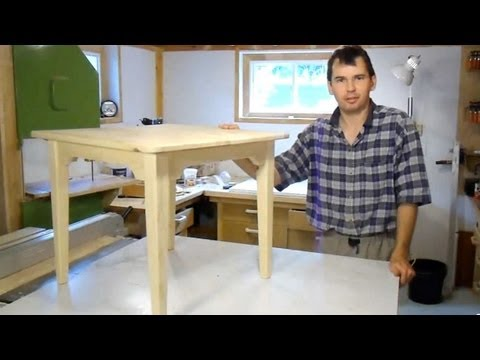 Build a small table - YouTube