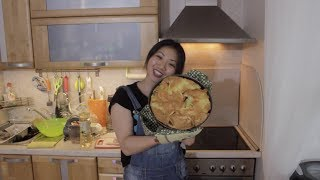 Ну очень простой рецепт пирога с тунцом, заливной пирог Готовим Вкусно