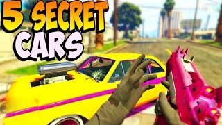 GTA - 5 RARE & SECRET VEHICLES LOCATIONS! Rare & Secret Cars In GTA Online! (GTA 5)