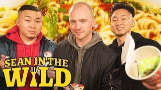 Fung Bros and Sean Evans Review International Instant Noodles | Sean in the Wild