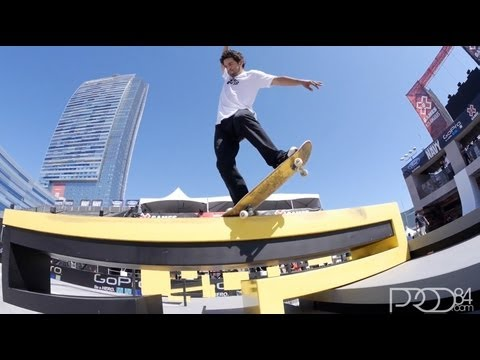 Paul Rodriguez Warm Up Clip Street League at X Games Los Angeles 2013