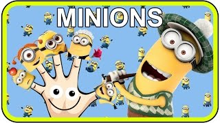 Finger Family The Minions Songs, Daddy Finger Nursery Rhymes for Children