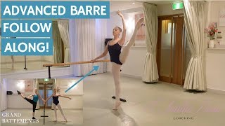 Advanced Barre Follow Along!