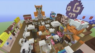 Minecraft Xbox - Hide and Seek - Youtuber Tea Party