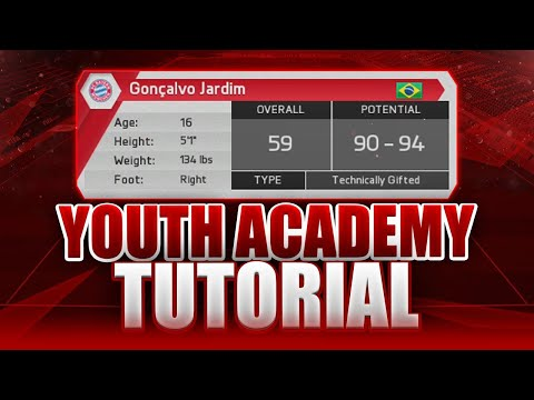FIFA 16 Career Mode - YOUTH ACADEMY TUTORIAL - AMAZING NEW FEATURES!