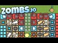 Zombs.io - Best Base Ever! - Slow Traps and Melee Towers! - Zombs.io Gameplay - Top Player