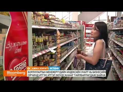 Bloomberg TV Reporting on the World Economics SMI: Mongolia - July 2015