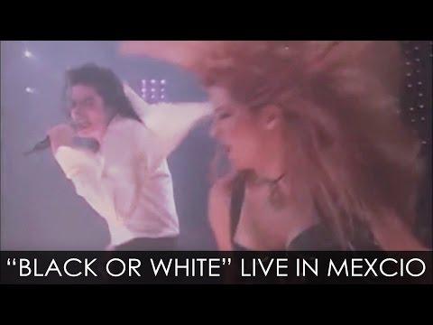 Michael Jackson - black Or White Live Dangerous Tour Mexico 1993 - Enhanced - Hd video
