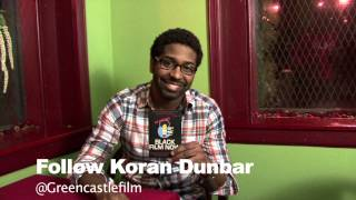 Koran Dunbar - Black Film Now Postcard Promo