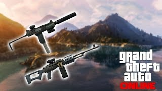 GTA 5 Online - Best SMG & MG To Use! (Bullet Damage, Fire Speed, Reload Time)