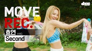 Download lagu HYO 효연 - 'Second'   Performance video   MOVE REC.ㅣ무브렉ㅣDGG