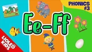 Phonics Ee - Ff | Đánh vần tiếng Anh | Tiếng Anh cho bé qua sách Family and Friends