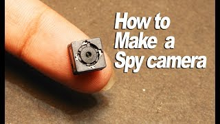 How to Make a Spy Camera at home_