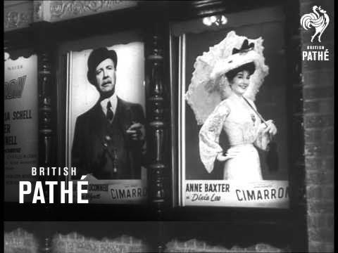 Premiere Of Film 'cimarron' AKA Oklahoma City Welcomes Stars For Premiere (1960)