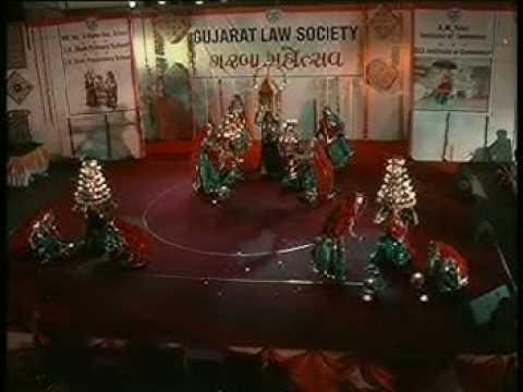 Gujarati Garba Competition video