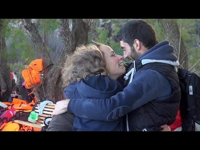 Refugiados: Um reencontro na ilha de Lesbos