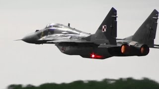 RIAT 2015 MiG-29 Polish Air Force