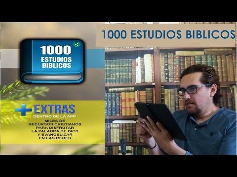 1000 Estudios Biblicos  Para El Celular - Apps Cristianas