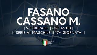 Serie A1M [17^]: Fasano - Cassano Magnago 22-25