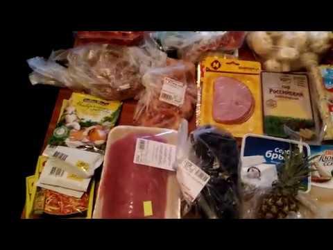 Закупка продуктов для праздничного стола