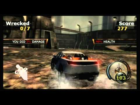 CGRundertow - FLATOUT for Nintendo Wii Video Game Review
