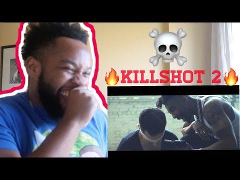 "DAX - ""KILLSHOT 2"" (Official Music Video) REACTION! (HE SNAPPED)"
