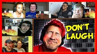 Markiplier - Try Not To Laugh Challenge #2 REACTION MASHUP