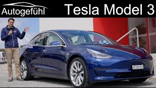 Tesla Model 3 FULL REVIEW Performance racetrack vs road driving test!