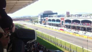 FORMULA 1 TURKEY GRAND PRIX 2011 STARTING By ATILIM ALTUN