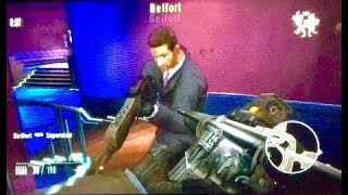 Goldeneye 007 Wii online gameplay at Nightclub. Level 26 play. #576.
