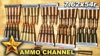 Let's talk about 7.62x54r ammo.