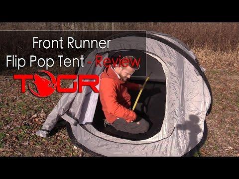 Front Runner Flip Pop Tent - Review