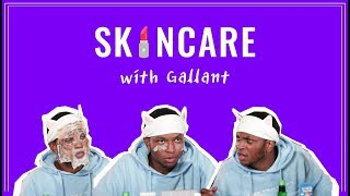 R&B Singer Gallant Tries Trendy Korean Skincare For The First Time