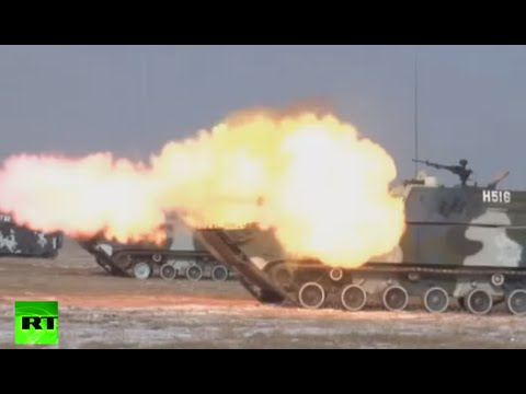 Live Fire: China holds sweeping military drills across the country