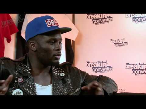 Tony Adigun [Avant Garde Dance] Interview with Jonzi D - Breakin Convention 2012
