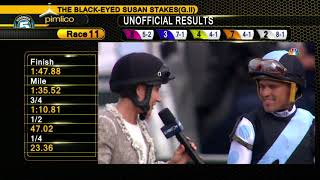PIMLICO 5 17 2019 RACE 11 THE Xpressbet BLACK EYED SUSAN STAKES