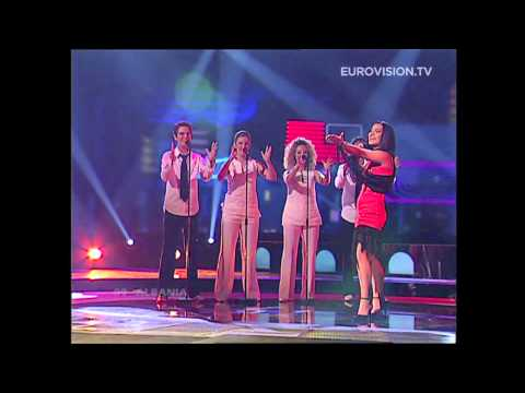 Anjeza Shahini - The Image Of You (Albania) 2004 Eurovision Song Contest