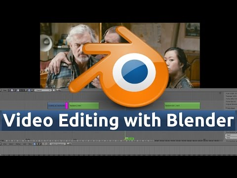 24 - Blender Video Editing (Speed up & Slow Down Audio/Video | Snap Strips option)