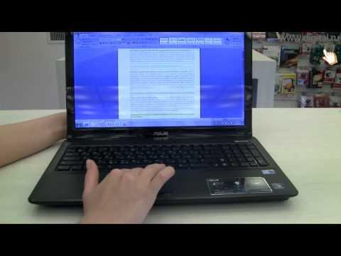 Видеообзор ноутбука Asus A52J (K52F)