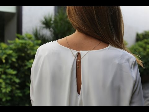 SilviaBoschBlog - Casual outfit with white blouse